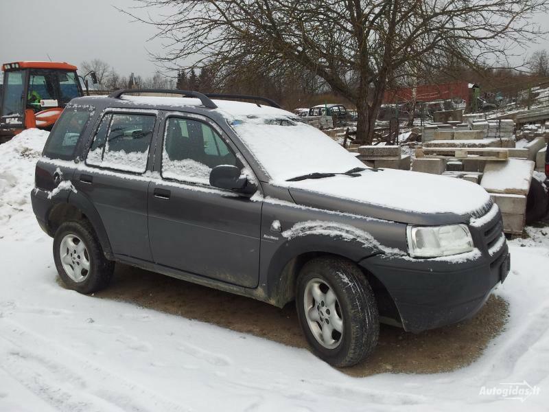 Land-Rover Freelander I Europa Dyzelis, 2002y.