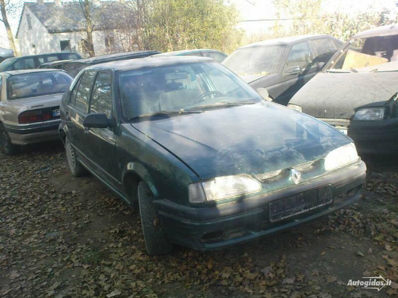 Renault 19 II 1993 m. dalys