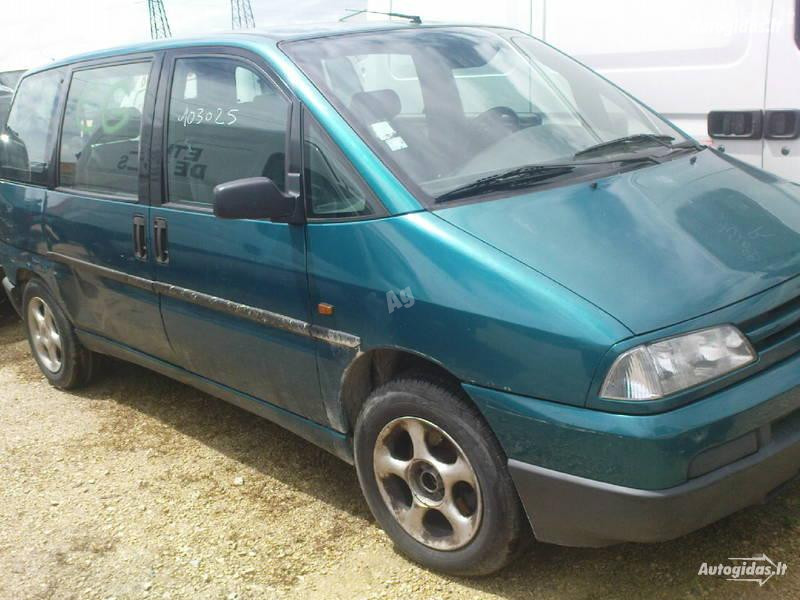 Peugeot 806, 1997m.