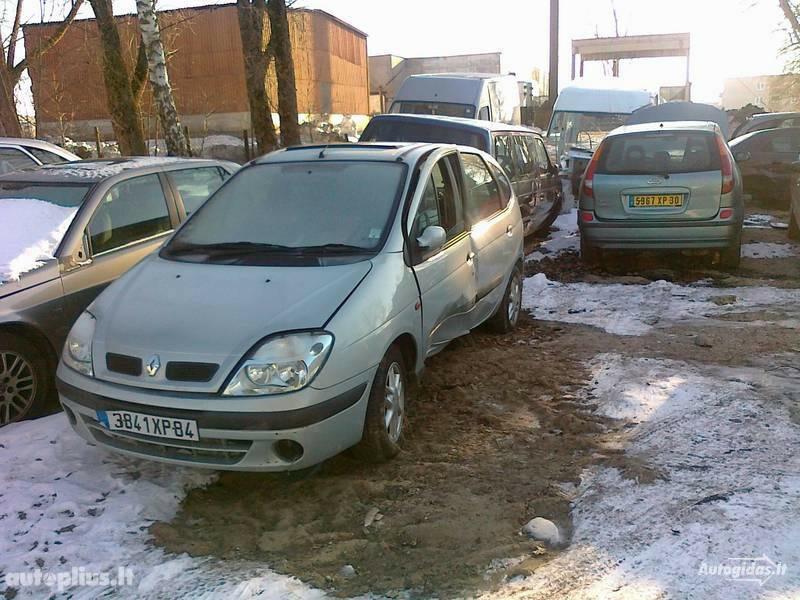 Renault Scenic I 2001 m. dalys