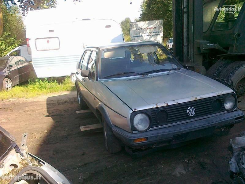 Volkswagen Golf II 1988 m. dalys