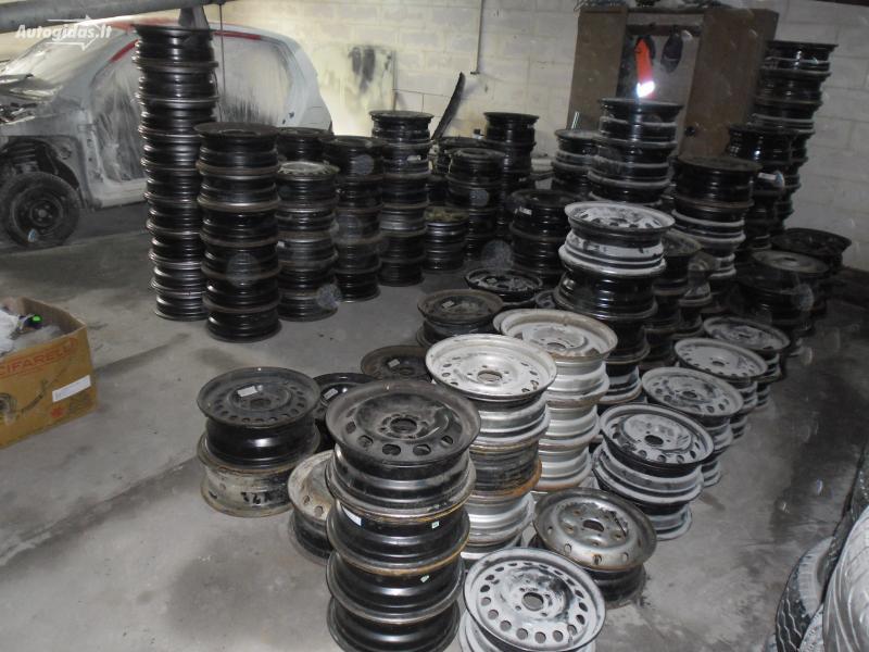 BMW R15 plieniniai štampuoti ratlankiai