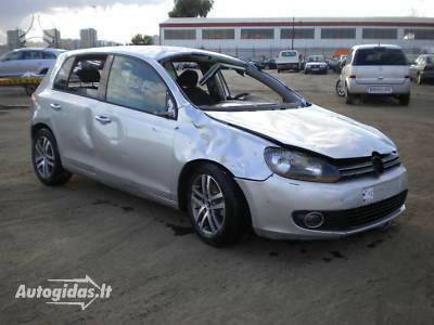 Volkswagen Golf VI 2011 m. dalys