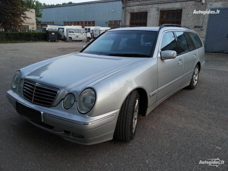 Mercedes-Benz E 220 W210 Avantgarde 2001 m. dalys