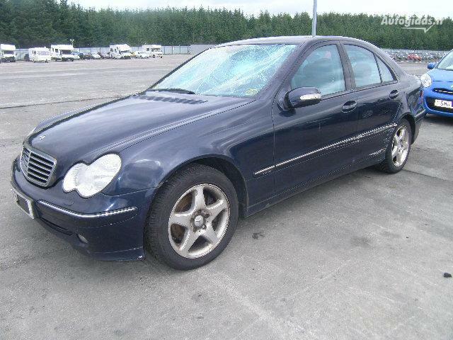 Mercedes-Benz C 270 W203 2002 m. dalys