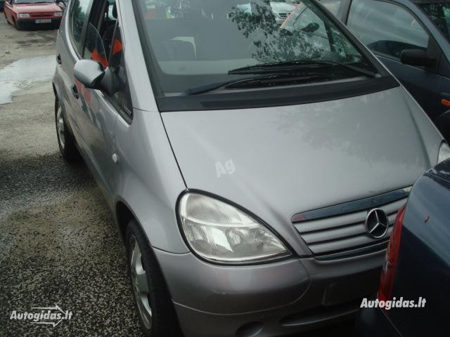 Mercedes-Benz A 170 W168 Europa odinis salona 2001 y. parts