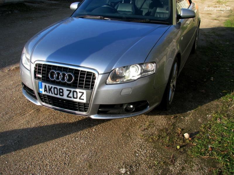Audi A4 B8 2008 m. dalys