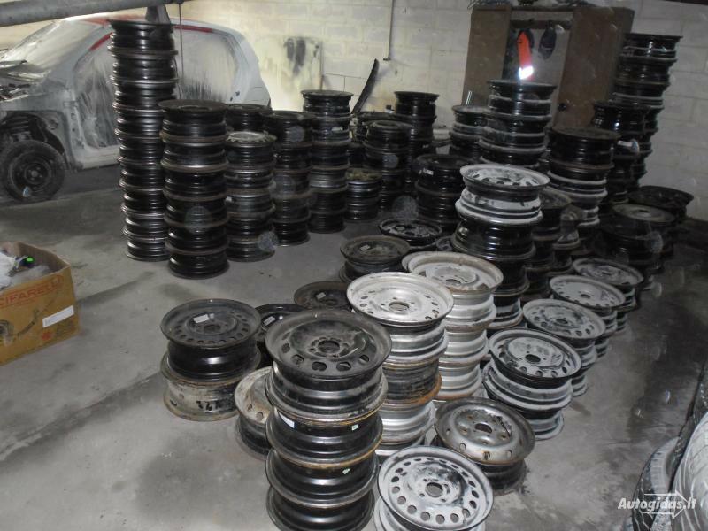 Volvo R15 plieniniai štampuoti ratlankiai