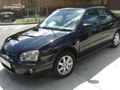 Subaru Impreza GD GX 2003 m. dalys