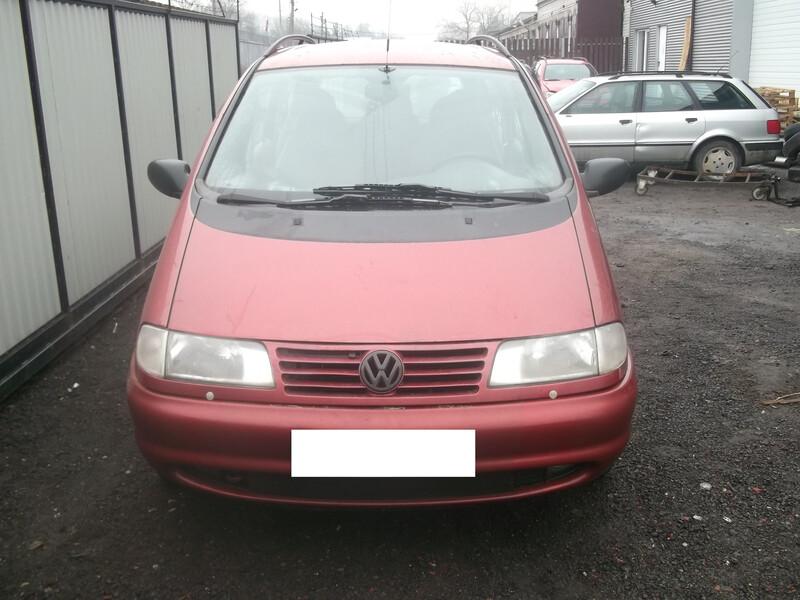 Volkswagen Sharan vr6, 1998m.