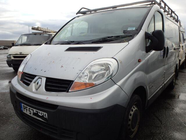Renault Trafic 2009 y. parts