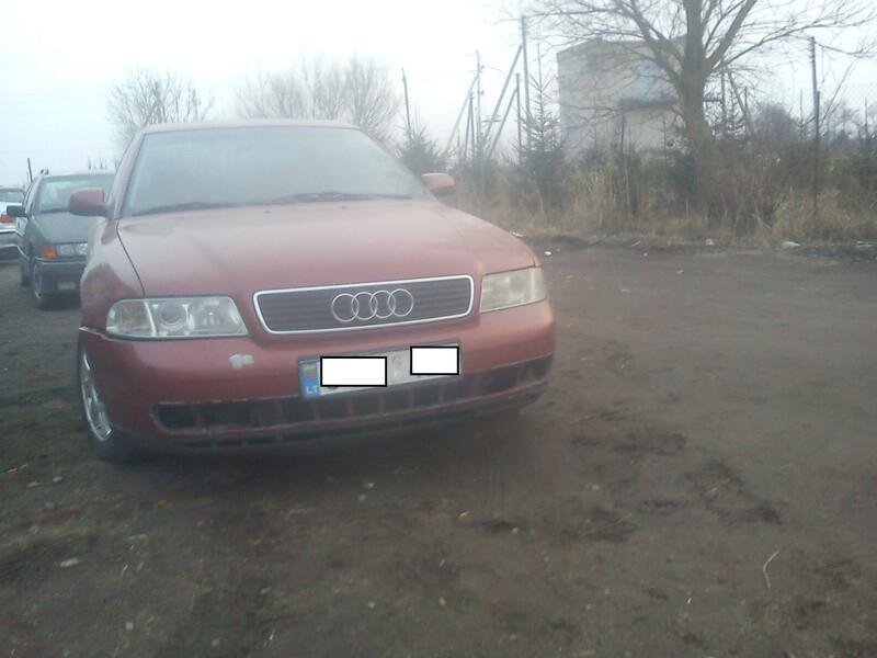 Audi A4 B5 1.8. 92 kw  1999 m. dalys