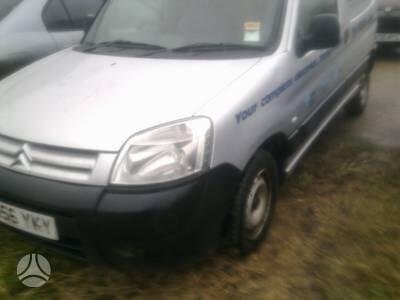 Peugeot Partner 2006 m. dalys