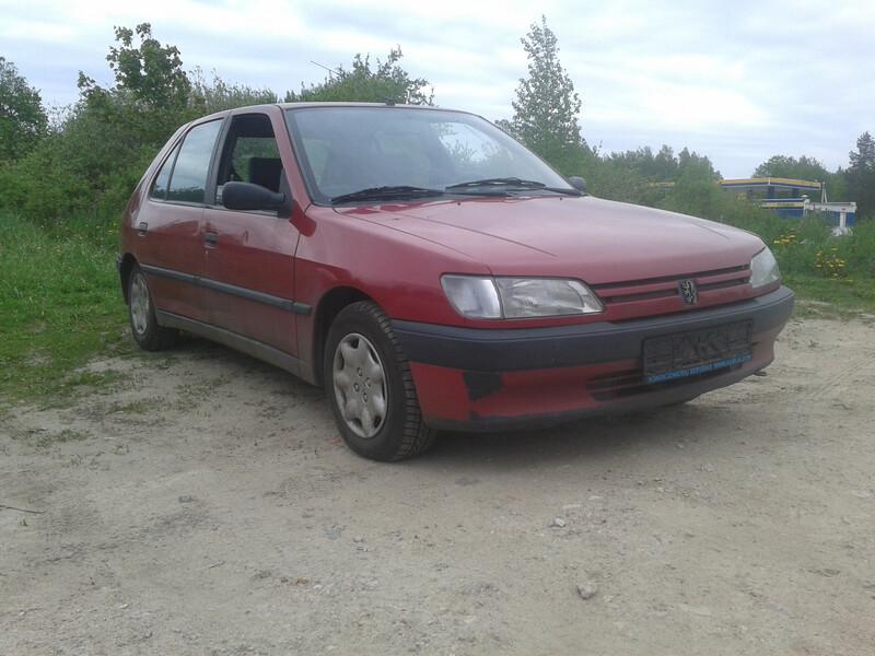 Peugeot 306 Benzinas Dyzelis, 1995m.