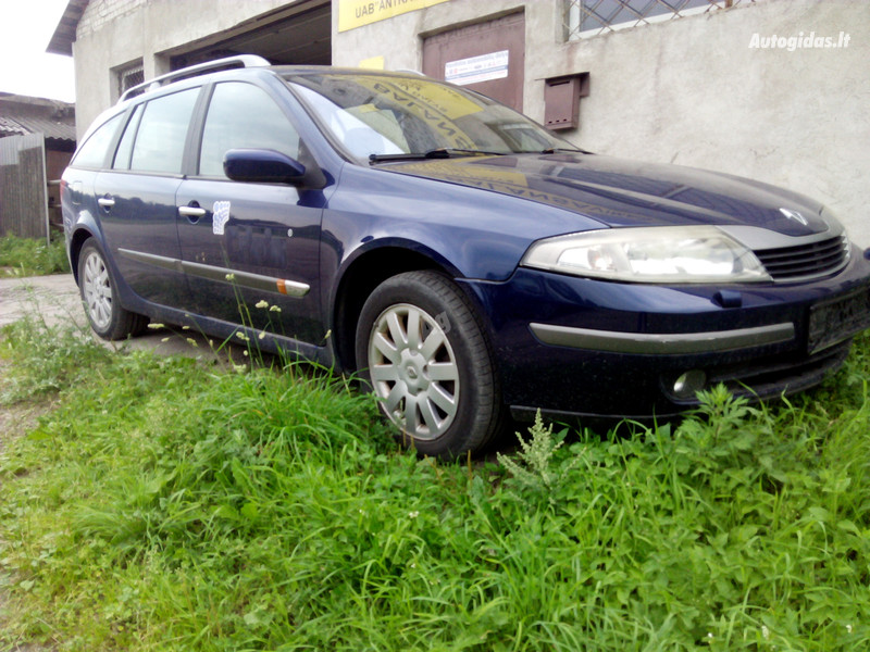 Renault Laguna II 2.0 IDE F5R 700 2003 m. dalys