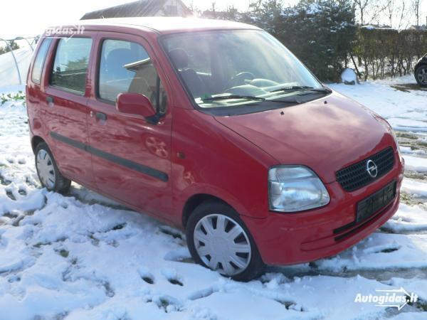 Opel Agila A 2001 m. dalys
