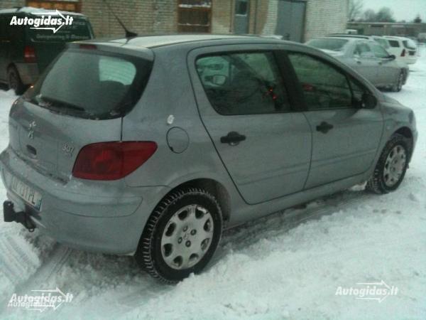 Peugeot 307 I 2001 m. dalys