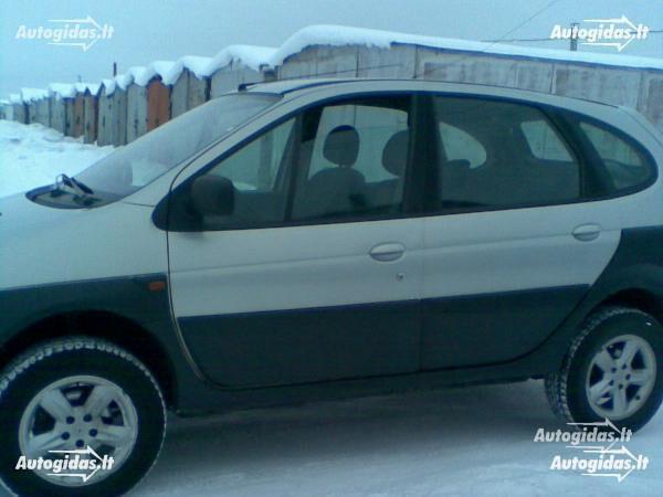 Renault Scenic Rx4 2003 m. dalys