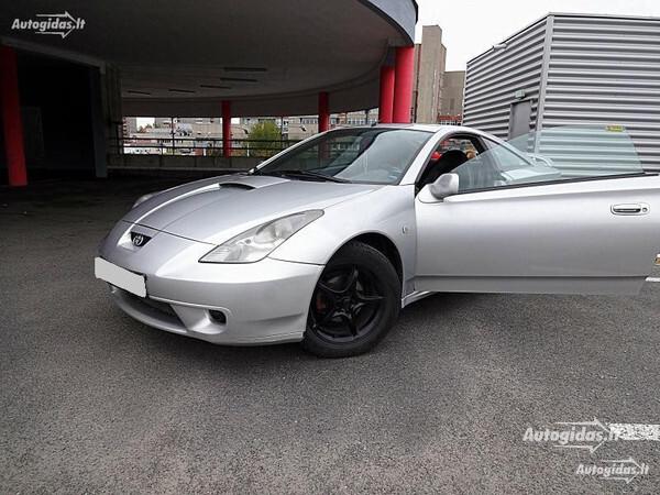Toyota Celica 2001 y. parts