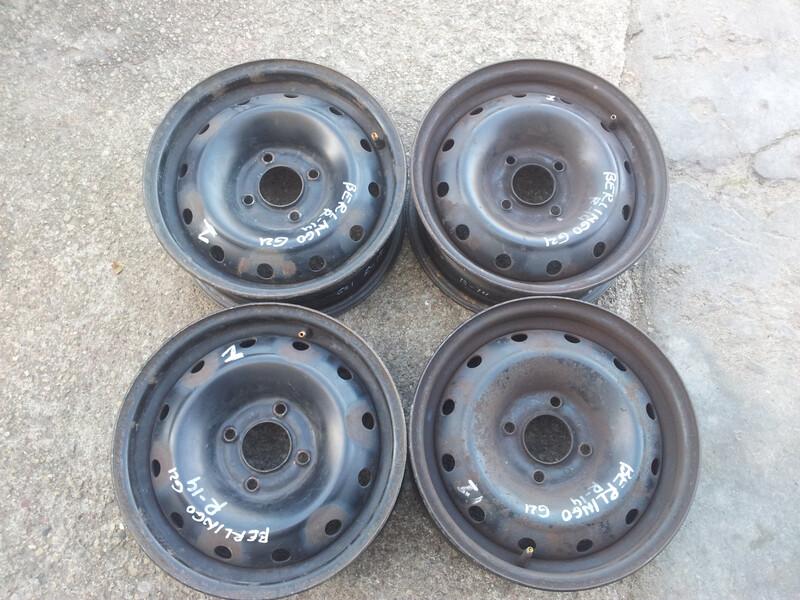 Citroen R14 plieniniai štampuoti ratlankiai