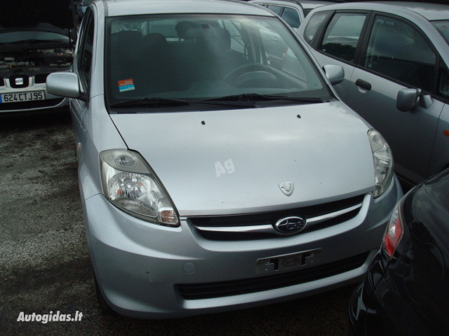 Daihatsu Sirion engine 1KR 2008 y. parts
