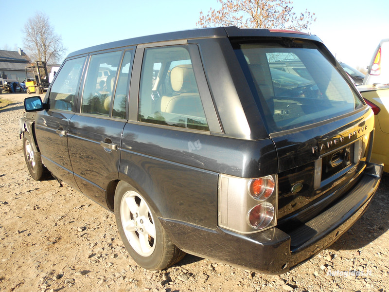 Land-Rover Range Rover III 2002 m. dalys