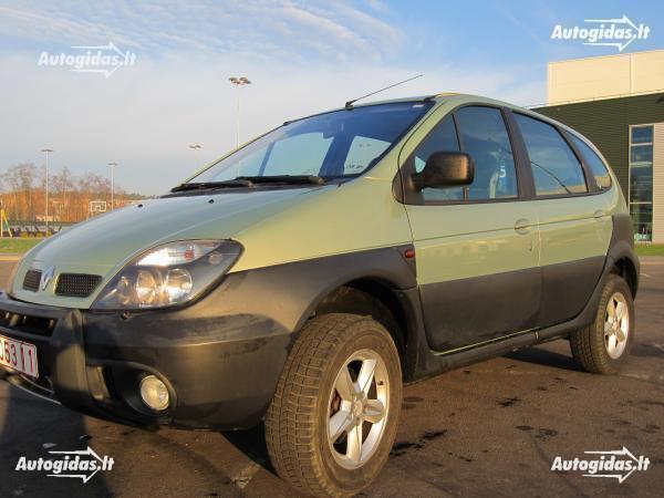 Renault Scenic Rx4 2005 m. dalys