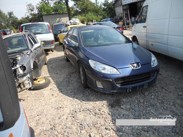 Peugeot 407 2004 г. запчясти