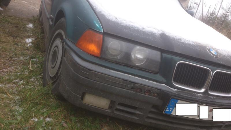 Bmw 318 E36 85kw 1997 m. dalys