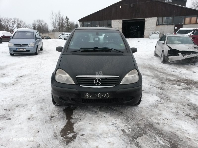 Mercedes benz a 170 w168 2002 y parts advertisement for Mercedes benz new parts