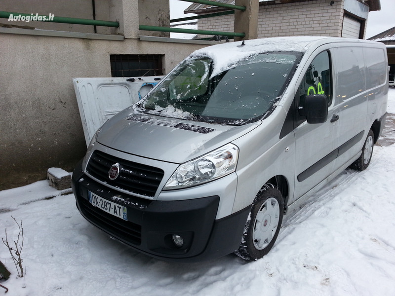 Fiat Scudo 2014 m. dalys