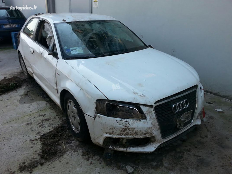 Audi A3 8P 2010 m. dalys