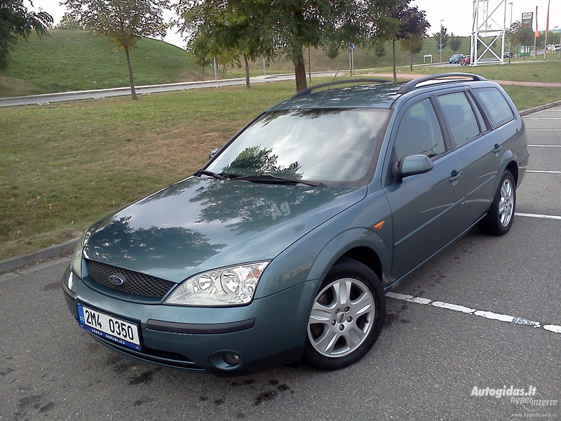 Ford Mondeo Mk3, 2003m.