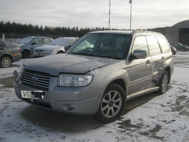 Subaru Forester II X 2008 y. parts