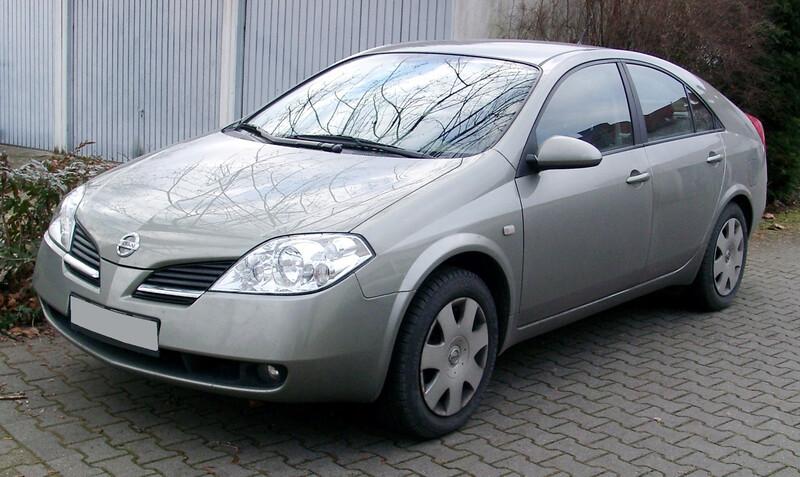 Nissan Primera P12 cdi, 2003m.