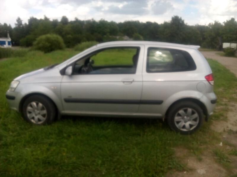 Hyundai Getz 1,5CRDI Europa 2004 m. dalys