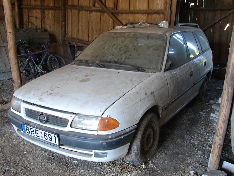 Opel Astra I CD 1997 m. dalys