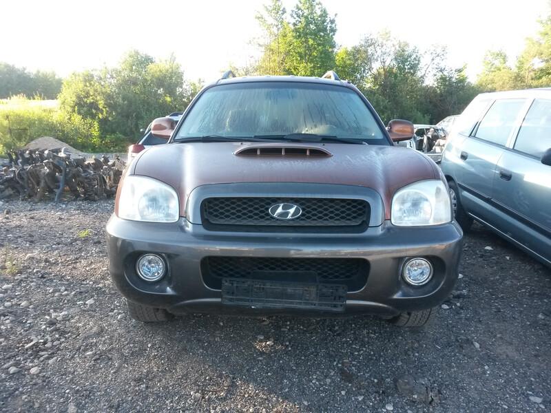 Hyundai Santa Fe I 2001 m. dalys