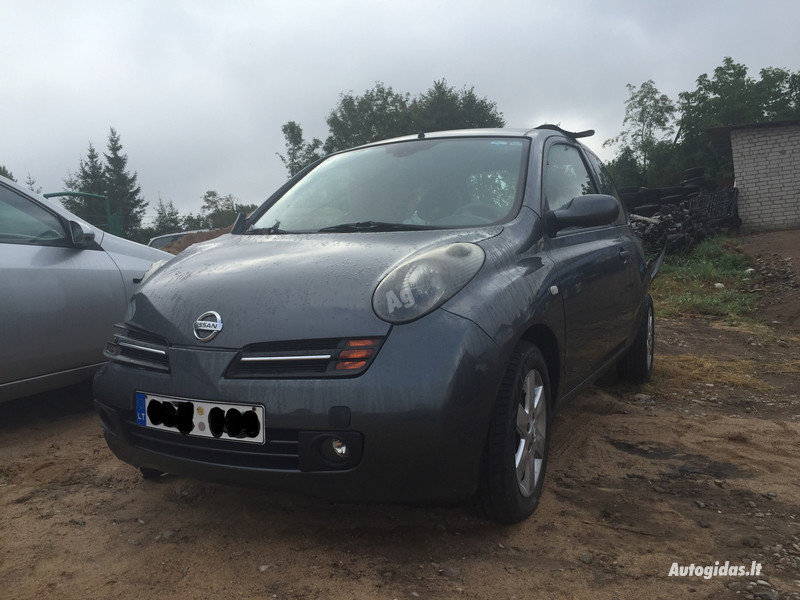 Nissan Micra K11 2003 m. dalys