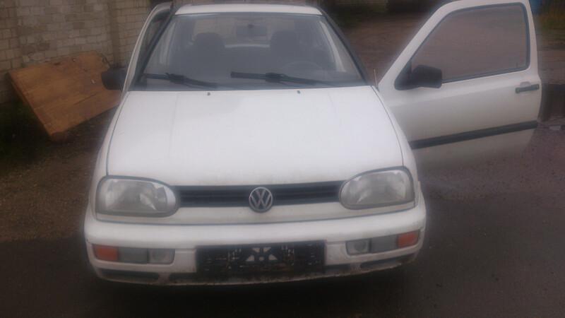 Volkswagen Golf III Tiesioginės dujos, 1995m.