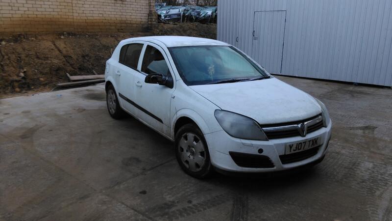Opel Astra II 2008 m. dalys