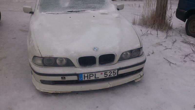 Bmw 525 E39 2.5tds 1999 m. dalys