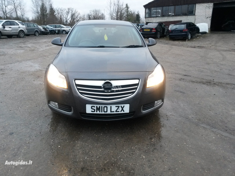 Opel Insignia, 2010m.
