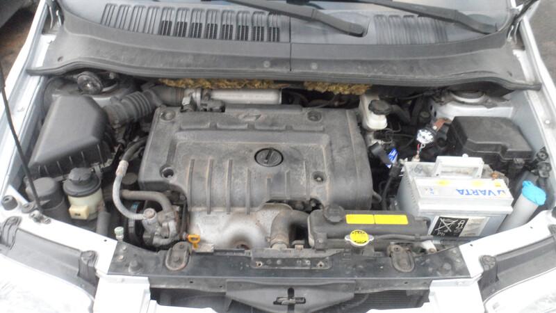Hyundai Matrix 2004 m. dalys