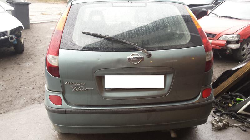 Nissan Almera Tino, 2002y.