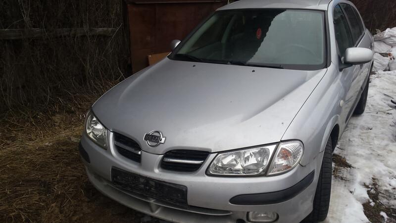 Nissan Almera N15 N16, 2000m.