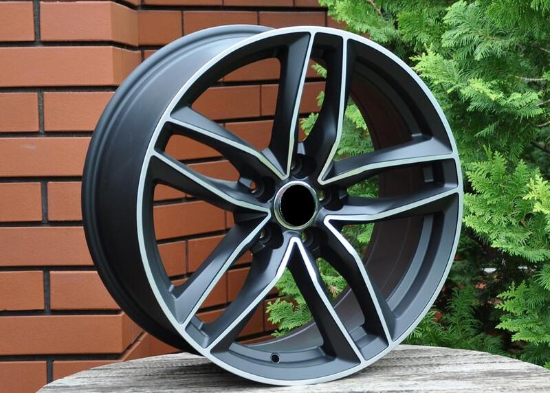 Audi R18 литые диски
