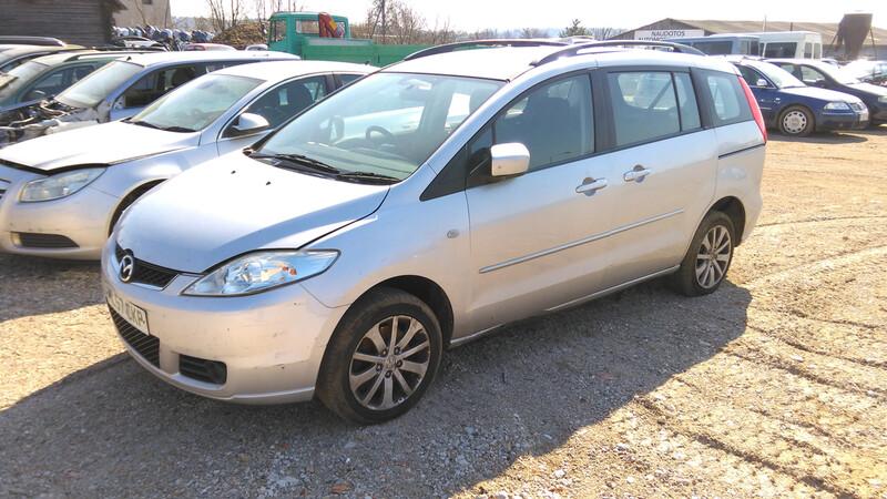 Mazda 5 I 2007 y. parts