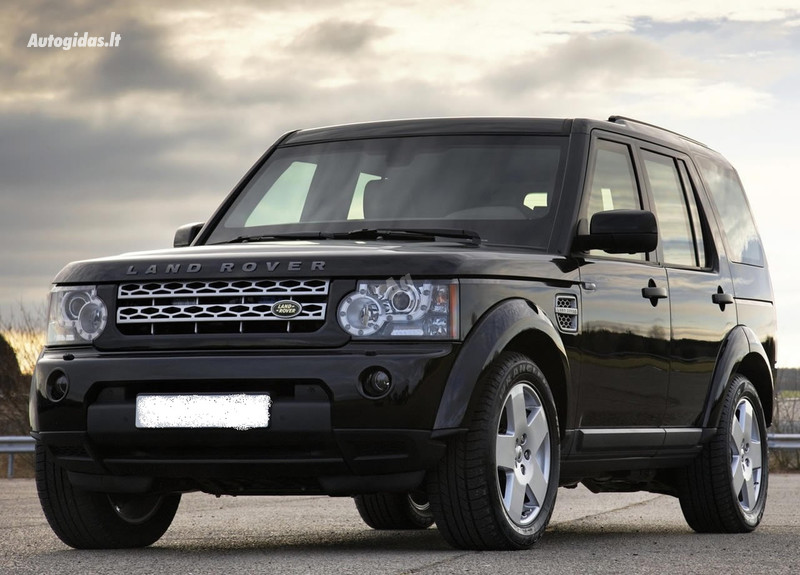 Land-Rover Discovery IV, 2012y.