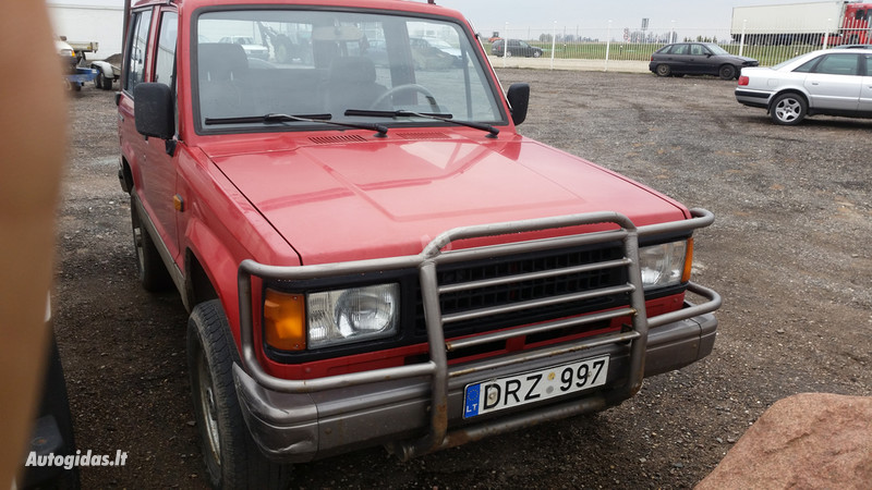 Isuzu Trooper 1991 y. parts